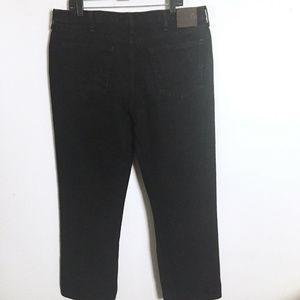 Lee Regular Fit Black Straight Leg Jeans 40 x 30
